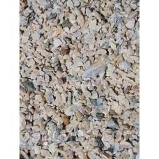 Натуральная крошка крем-серая
