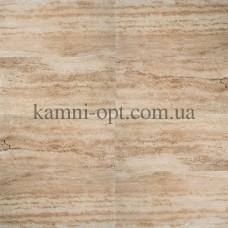 Бежевая плитка из травертина Caramel  Vein Cut