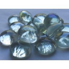 Декоративный камень стеклянный прозрачный