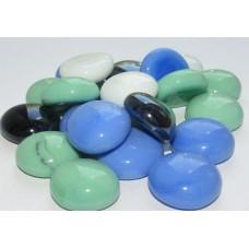 Стеклянные камни микс 1