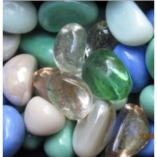 Декоративный камень стеклянный микс-1